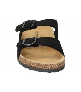 Zapatos para caballero planos skechers 52328-bbk en negro