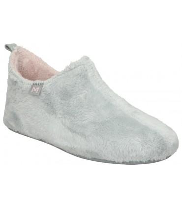 Zapatos para señora planos skechers 124043-nvw en azul