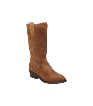 Zapatos cuña para mujer Pitillos 6021 de piel color plata