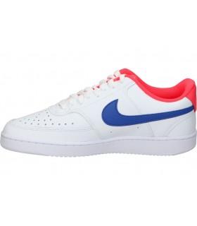 Zapatos con cuña Pitillos 6021 para mujer en azul calado confort