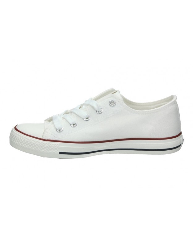Zapatillas deportivas casual color negro jhayber za581502