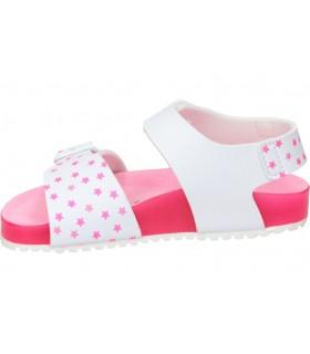 Zapatos para señora planos suave 3603 en azul
