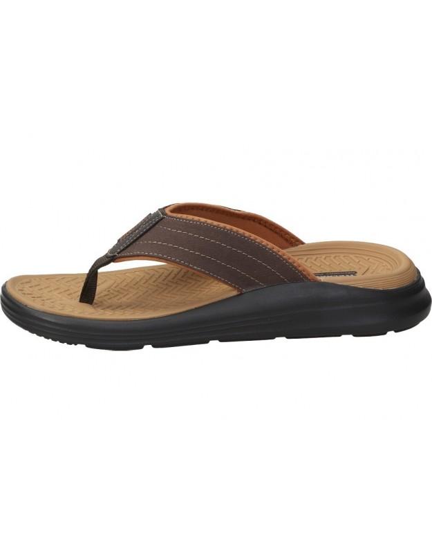 Zapatos fluchos 8674 azul para caballero