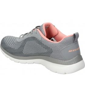 Zapatos color plata de casual amarpies ajh17124