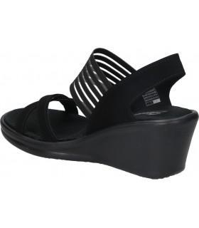 Sandalias casual de moda joven stay 21-420 color negro