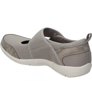 Sandalias para señora cuña valerias 6005 en gris