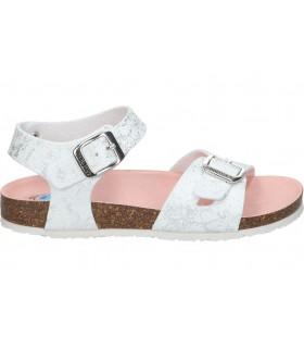 Zapatos casual de señora amarpies aft17098 color blanco