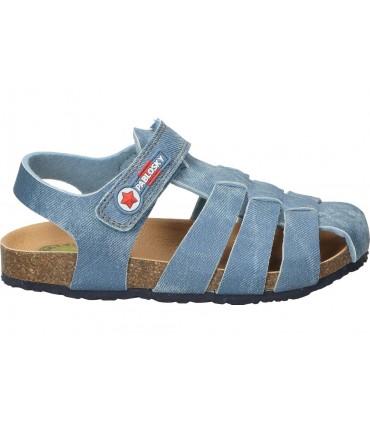 Zapatos c. tapioca 4420-4 azul para caballero
