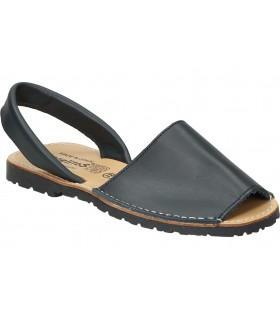 Sandalias para moda joven cuña refresh 69531 en negro