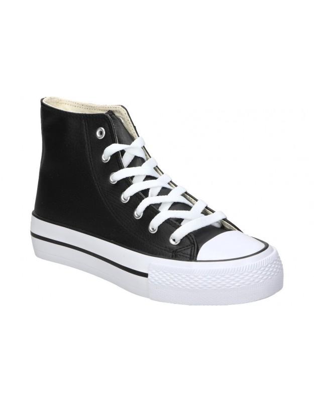 Sandalias color negro de casual amarpies abz17066