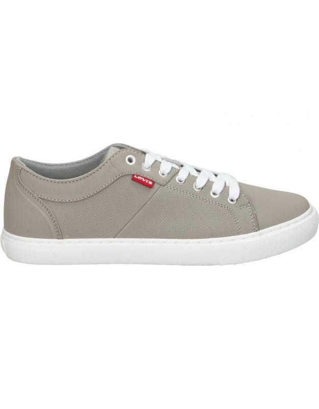 Zapatos casual de señora skechers 124201-bkw color negro