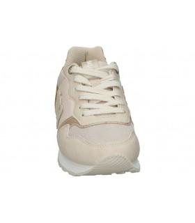 Sandalias casual de moda joven amarpies abz17028 color negro