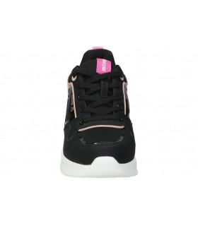 Sandalias para moda joven tacón palmipao-aclys a120-01-03 en negro
