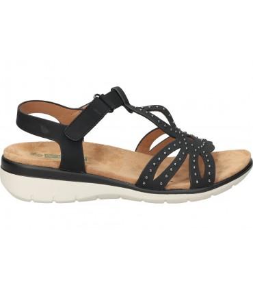 Sandalias color beige de casual skechers 31723-nat