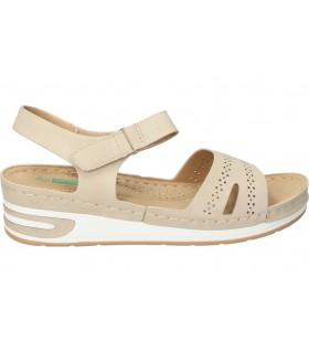 Sandalias para señora skechers 15316-nat beige