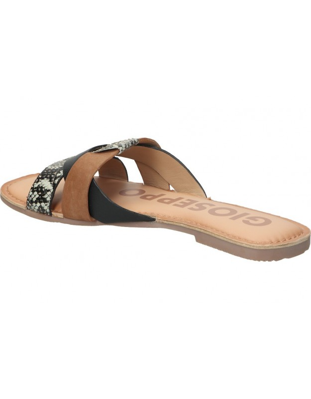 Sandalias color negro de casual c. tapioca c106-41