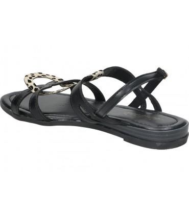 Porronet negro 2613 sandalias para señora