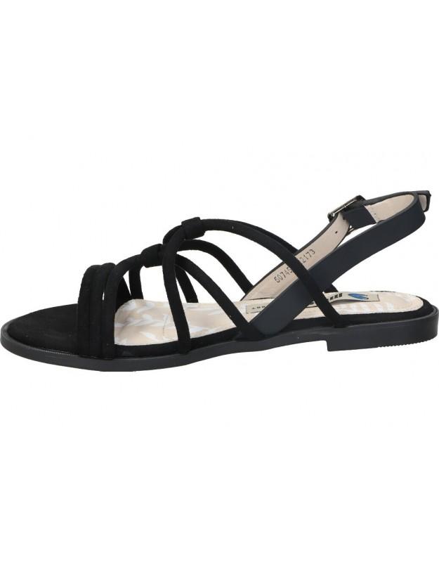 Marila marron 1206c/lu/61 sandalias para señora