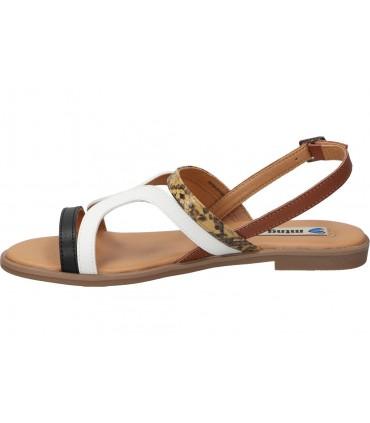Sandalias color marron de casual marila 5409ap/mc/6