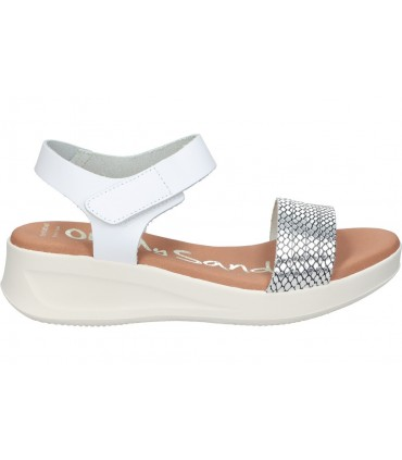 Sandalias para moda joven planos mtng 58975 en marron