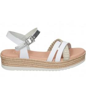 Sandalias para moda joven cuña yokono capri-071 en marron