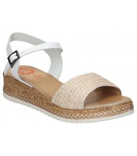 Sandalias casual de moda joven mtng 58368 color negro