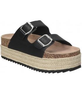 Interbios naranja 7133 sandalias para moda joven