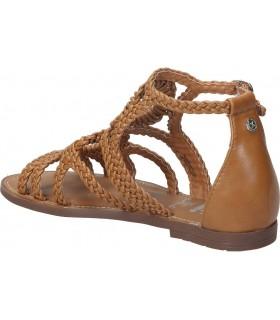 Interbios naranja 7119 sandalias para moda joven