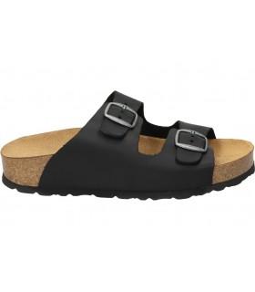 Zapatos color negro de casual geox d049ga