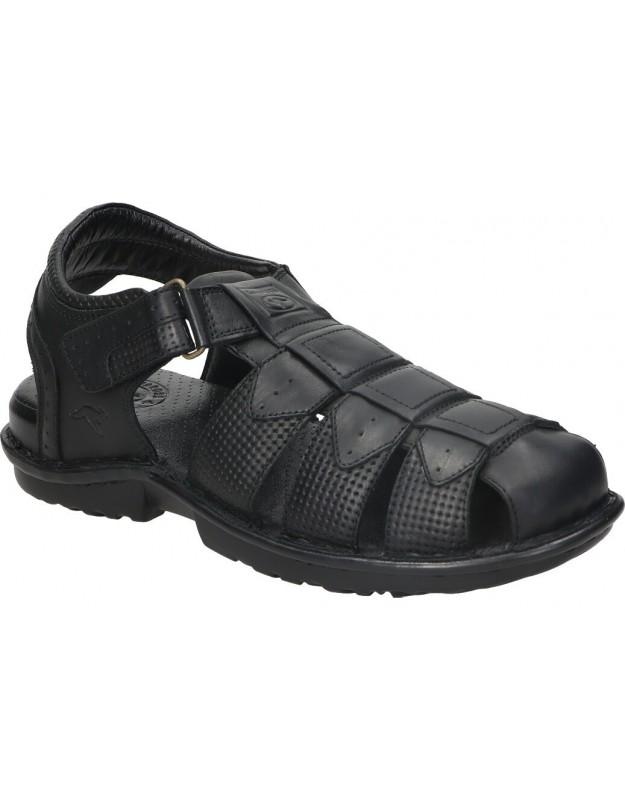 Zapatos nuper 1250 negro para caballero