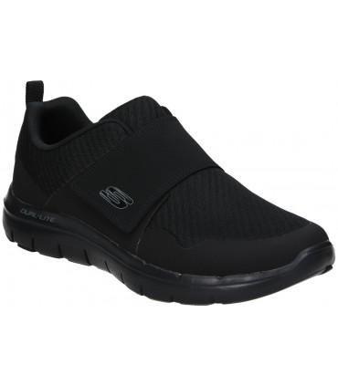 Zapatillas casual piel mujer Carmela negro 67592