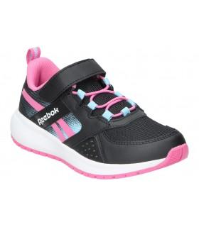 Zapatos chk10 lila 11 negro para niña