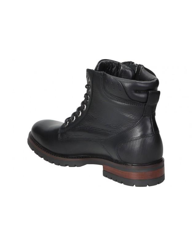 Dorking negro d8449 botines para señora