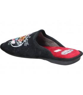 Botines para moda joven tacón emmshu fleur en negro