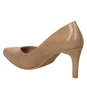 Zapatos color negro de casual pitillos 6442