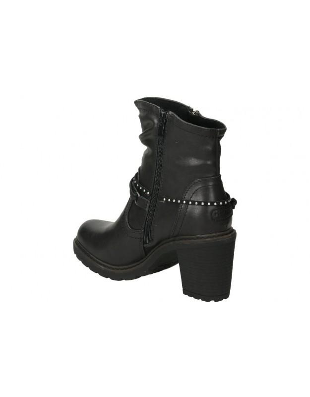 Botines para moda joven planos mtng 50192 en negro
