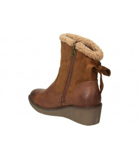 Botas color marron de casual jhayber za52334-500