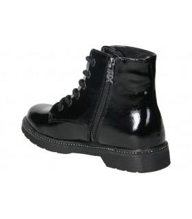 Botines para moda joven tacón mtng 50276 en negro