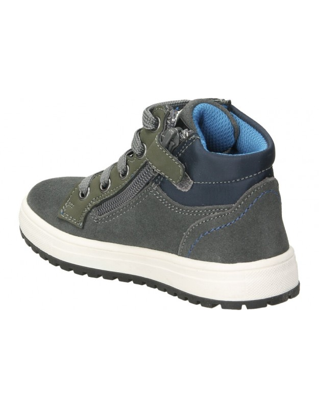Skechers azul 15506-nvgy botines para señora