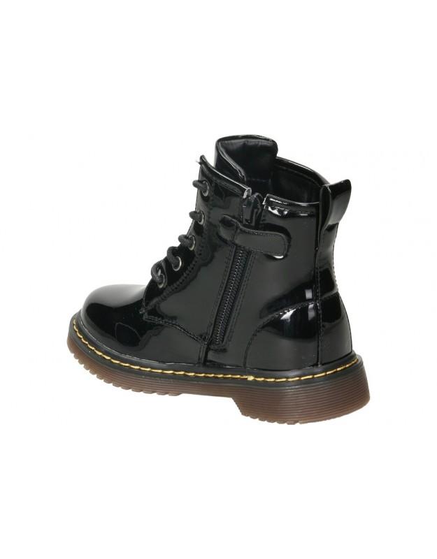 Botines treinta´s 3424 negro para señora