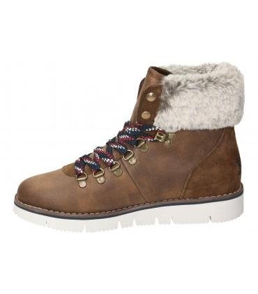 Skechers marron 65693-cdb zapatos para caballero