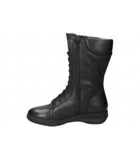 Botines para moda joven tacón mtng 58660 en negro