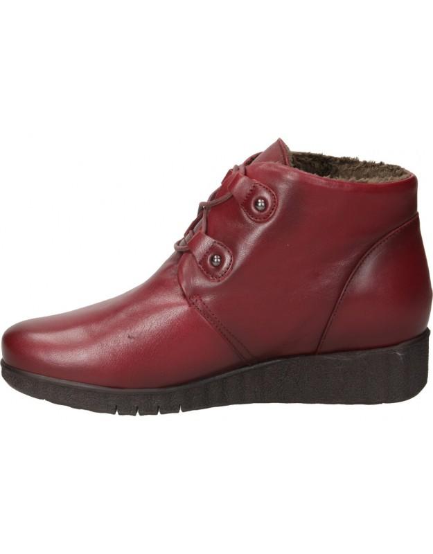 Zapatos casual de señora pitillos 6330 color rojo