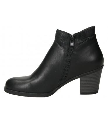 Zapatos casual de señora pitillos 6453 color negro