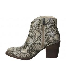 Zapatos para señora planos pitillos 6471 en negro