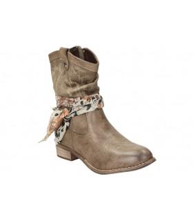 Zapatos para señora calzazul-flex 1410 marron