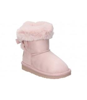 Zapatos para señora planos calzazul-flex 1112 en burdeos