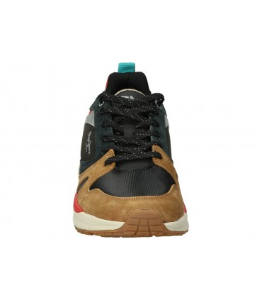 Deportivas color negro de casual adidas rapidarun ef9258 con velcro