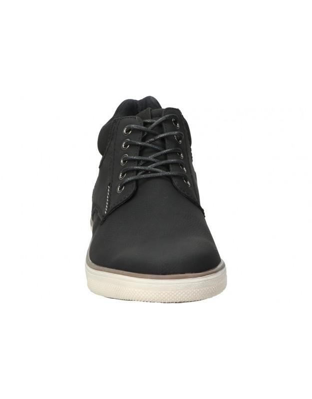 Deportivas casual adidas Grand Court ef0102 color negro para mujer